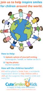 Cute Smiles 4 Kids San Antonio Children's Dentist Tag #SmileTrainWSD Smile Train